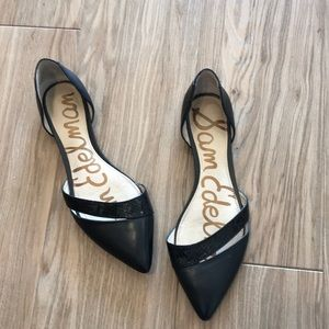 687cbc986 Sam Edelman · Same Edelman black pointy toe flats ...